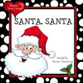Santa Santa What Do You See? Early Reader Pre-K Early Inte