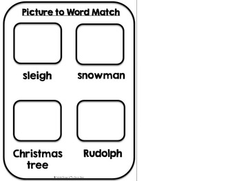 Santa, Santa What Do You See- Adapted Christmas Book {Autism, Early Childhood}