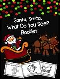 Santa, Santa, What Do You See Booklet