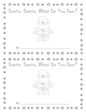 Santa Santa What Do You See Printable Book