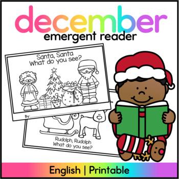 Santa, Santa What do you see? - Christmas Booklet