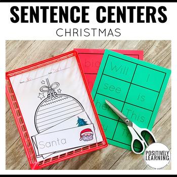Sentence Centers Christmas