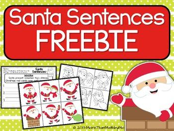 Santa Sentences FREEBIE