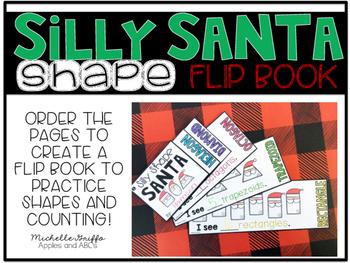 Santa Shape Flip Book