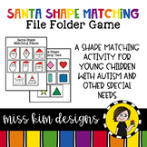 Folder Game: Santa Shape Matching for Students with Autism & Special Needs