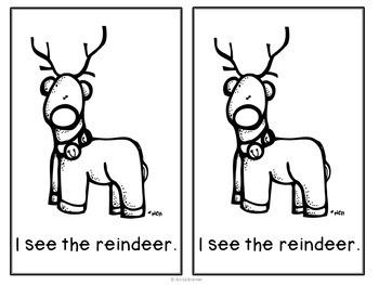 Santa Sight Word Reader