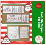 Santa Silly Shapes Flip Books
