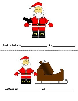 Santa Similes Mini Book