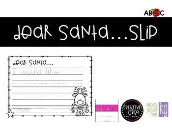 Santa Slip