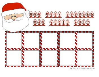 Santa Snacks Subtraction