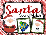 Santa Sounds - Beginning Sound Match