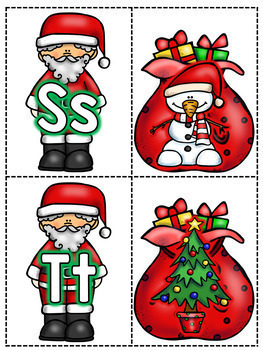 Santa Sounds - December Beginning Sounds Center