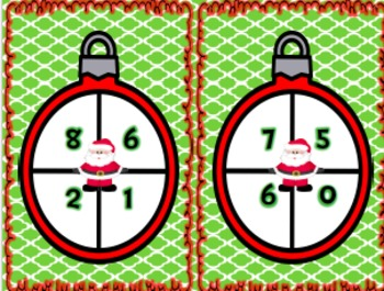 Santa Spin a Fact Family - Freebie