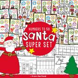 Christmas Number Games Santa Super Set