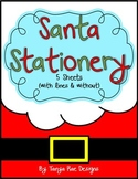 Santa Stationery {Letter to Santa Writing Paper}