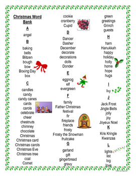 Christmas Story Writing Project With Template, Pop-Outs, and Story Starters