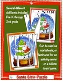 Santa Strip Puzzles