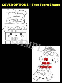 Santa Stuck in the Chimney - Moonju Makers for Activity, Craft, Decor