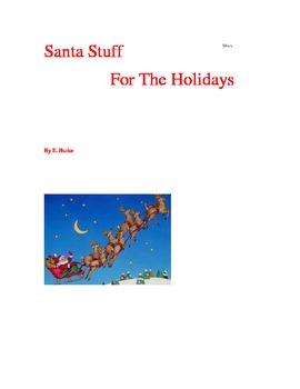 Santa Stuff