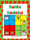 Santa Sudoku (Logic & Critical Thinking)