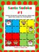 Santa Sudoku (Logic & Critical Thinking)