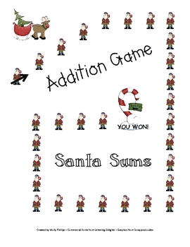 Santa Sums Christmas Addition Game