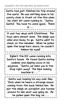 Santa Tales: Creative Writing for the Holidays