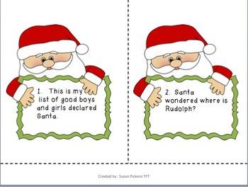 Santa Talk {adding quotation marks}