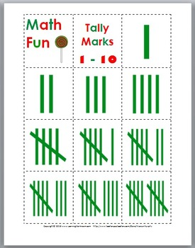 Christmas Tally Marks - Christmas Math