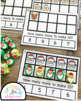 Santa Ten Frame Task Cards Making Ten With Santa Friends Center