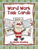 Santa Themed Word Work Task Cards