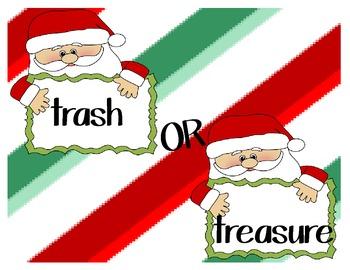 Santa Trash or Treasure