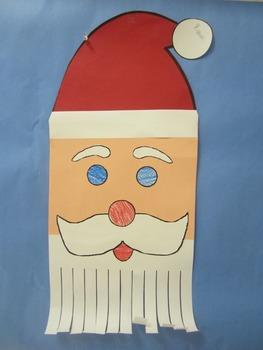 Santa Triangle and Curly Beard Santa