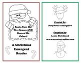 Santa Uses His Five Senses AND Knows His Colors Christmas