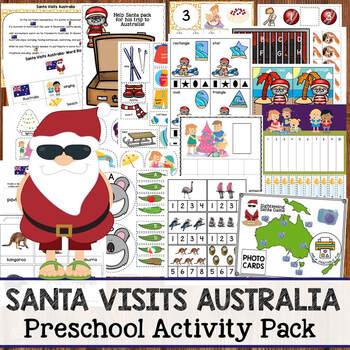Santa Visits Australia