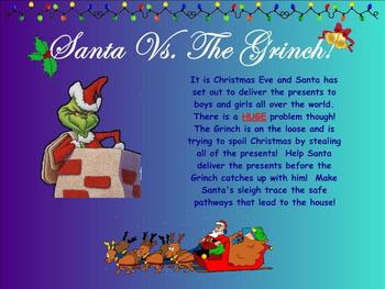 Santa Vs. The Grinch! - A Vocal Exploration Activity