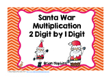 Santa War Multiplication 2 Digit by 1 Digit