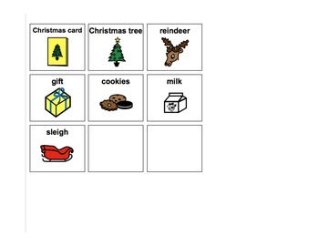 Santa What do you see? Adaptive Book for Autism and Speech Therapy