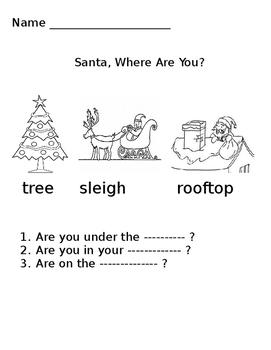 Santa, Where Are You