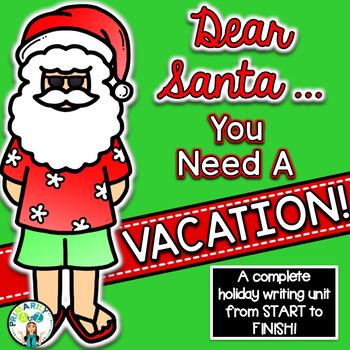 Santa Writing {Lesson Plans, Graphic Organizers, Writing P