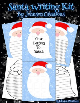 Santa Writing Kit