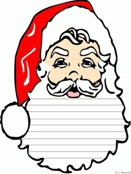 Christmas Santa Writing Paper