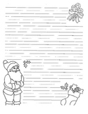 Santa Writing Paper- Good for Writing Letters