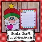 Santa Writing and Craft Project, December Writing  and Craft Project