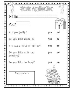Santa and Elf Applications