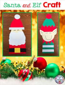 Santa and Elf Craft