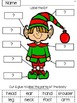 Santa and His Elf Labeling:  FREE Parts of the Body Activities