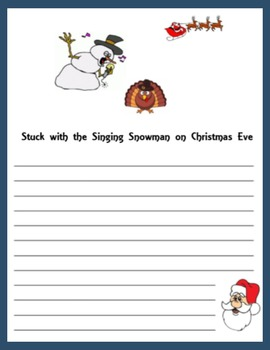 Santa and the Turkey:  Writing Funny Stories