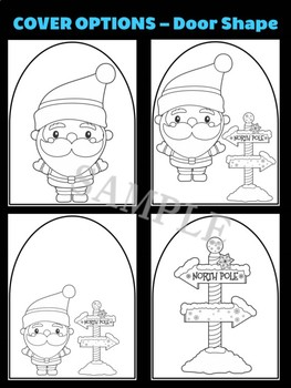 Santa at the North Pole - Moonju Makers for Activity, Craft, Decor, Christmas