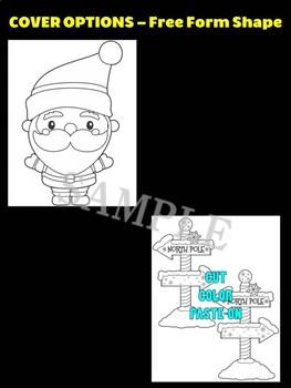 Santa at the North Pole - Moonju Makers for Activity, Craft, Decor, Christmas